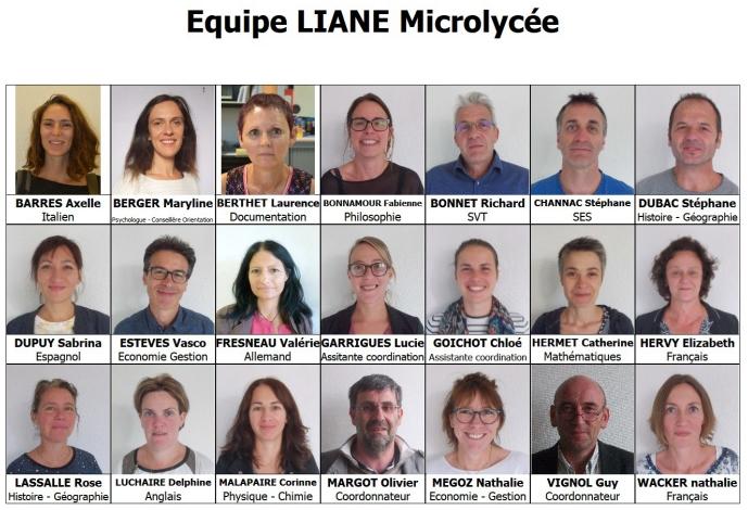 L'équipe du LIANE
